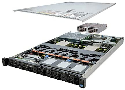 TechMikeNY Server 2X E5-2630v2 2.60Ghz 12-Core 128GB H310 PowerEdge R620 (Renewed)