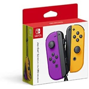 Nintendo Neon Purple/Neon Orange Joy-Con (L-R) – Switch (Japan Import)