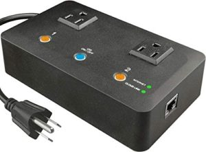 5Gstore App-Controled Remote Power IP Switch – 2 Outlets (US)