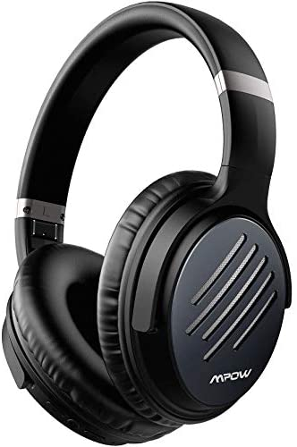Mpow H16 Active Noise Cancelling Headphones, Over Ear Bluetooth Headphones mit CVC 6.0 Mirophone, Bluetooth Headset with Hi-Fi Deep Bass, Quick Charge Wireless Headphones for Work/Travel
