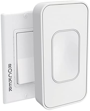 Switchmate for Rocker Style Light Switches by SimplySmartHome. SnapOn Smart Light Switch That Listens