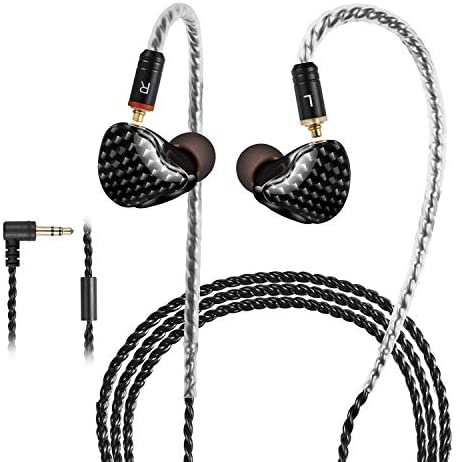 in-Ear Monitors, [Newest Updated Version] Wired Earbuds Headphones/Earphones/Headset Dual Drivers with MMCX Detachable Cables, Noise-Isolating Sweatproof Earphones HiFi Stereo (Mixed Color)