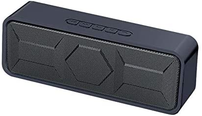 Portable Bluetooth Speaker, TWS Bluetooth 5.0 Wireless Speaker with 3D Stereo Hi-Fi Bass, Built-in 1500 mAh Battery, 12H Playtime