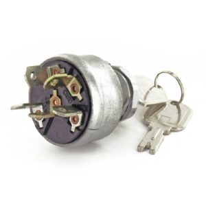 Pollak 31-267 3 Position Ignition Starter Switch with Momentary Start and Universal Type Die-Cast Housing
