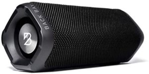 Back Bay Wireless Bluetooth Shower Speaker with 24-Hour Battery Life. Loud Hi-Fi Sound with Enhanced Bass. IPX-4 Water-Resistant Light Portable Speaker for Indoor/Outdoor Stereo Sound