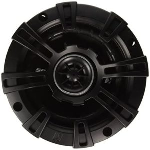 Kicker 43DSC44 D-Series 4-Inch 120 Watt 2-Way Coaxial Speakers (Pair), Black