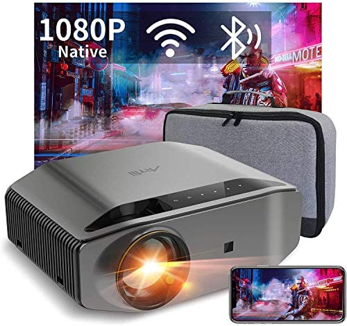 1080P Projector – Artlii Energon 2 Full HD WiFi Bluetooth Projector Support 4K, 7000L 300″ Display, Compatible with TV Stick, HDMI, iPhone, Android for Home Theater, PPT Presentation