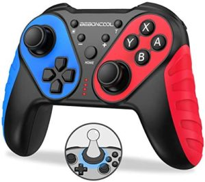 BEBONCOOL Switch Controller for Nintendo with Amibo Function,Wireless Switch Pro Controller for Nintendo with Auto-Fire Turbo,Motion Control,Dual Shock for Nintendo Switch Controller