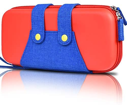Switch Case, BEBONCOOL Carrying Case Travel Carry Case for Nintendo Switch Console and Accessories Shell Pouch for Nintendo Switch Storage