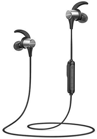 Wireless Headphones Anker Soundcore Spirit Pro, Dual EQ, 10 Hour Playtime, IP68, SweatGuard Technology, Hi-Fi Sound, Built-in Mic, Bluetooth Headphones, Sports, Workout, Gym