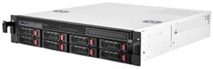 SilverStone Technology 2U Rackmount Server Case with 8 X 3.5 Hot Swap Bays Micro-ATX Support RM21-308