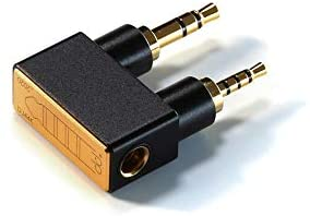 Linsoul DD HiFi DJ44K 2.5mm Balanced Adapter Stereo Converter with Gold-Plated Plug for AK