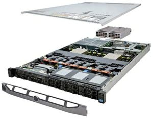 TechMikeNY Server 2X E5-2640 2.50Ghz 12-Core 32GB 2X 146GB 2X Caddies PowerEdge R620 (Renewed)