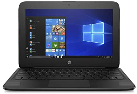 HP Stream Laptop PC 11.6″ Intel N4000 4GB DDR4 SDRAM 32GB eMMC Includes Office 365 Personal for One Year, Jet Black