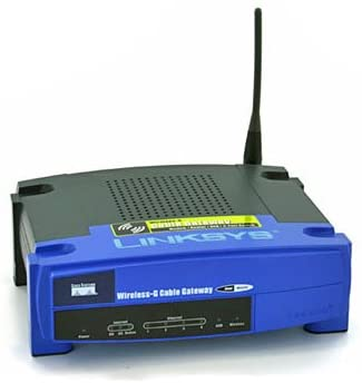 Linksys WCG200-RM Cable Modem with Built-In Wireless-G Router – Refurbished