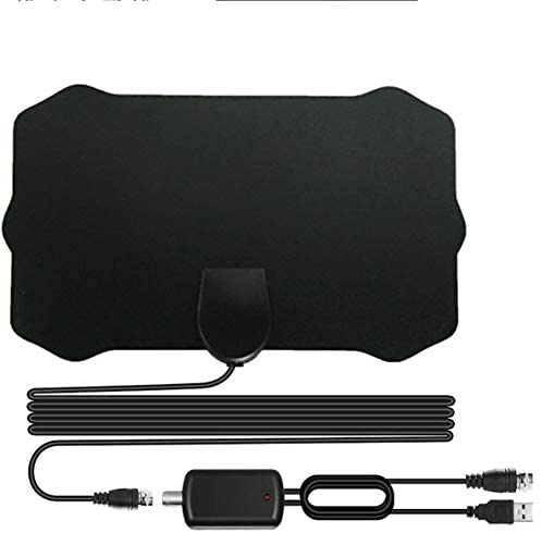 [Newest 2020] HDTV Antenna,XVZ Indoor Digital TV Antenna Amplified Support Freeview 4K HD Freeview Life Local Channels All Type Television Switch Amplifier Signal Booster