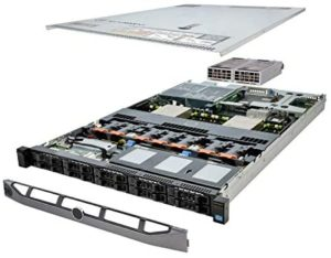 TechMikeNY Server 2X E5-2620v2 2.10Ghz 12-Core 24GB 2X 512GB SSD H710 PowerEdge R620 (Renewed)