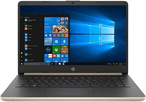 HP 14″ Touchscreen PC 4GB RAM, 128GB SSD, i3 HD Laptop, Dual-Core up to 3.90 GHz, Fingerprint, USB-C, 1366×768, UHD 620 Graphic, Bluetooth, Webcam, Win 10