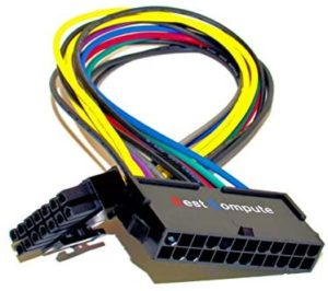 Best Compute 24 Pin to 14 PSU Main Power Supply ATX Adapter Cable for IBM/Lenovo PCs and Servers (Standard)