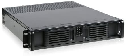 iStar D Storm D-200-PFS Front Mount ATX Power Supply 2U Rackmount Server Chassis (Black)