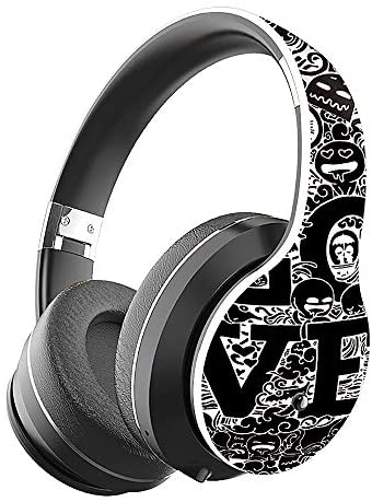 Bluetooth 5.0 Headphones, VAXIUJA Wireless Headphones Over Ear Wwith Hi-Fi Sound Mic Deep Bass, 12 Hours Playtime and Soft PU Earpads Foldable & Lightweight, Support Tf Card MP3 Mode and Fm Radiofor