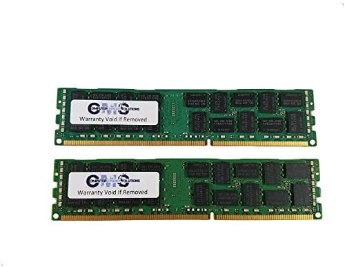 8Gb 2X4Gb Pc3-10600R Ecc Registered Ddr3 1333 2Rx4 Dimm Memory for Servers Only Ram by CMS B37