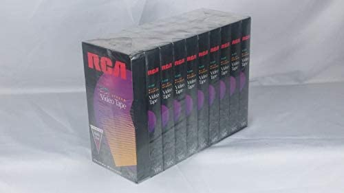 RCA Hi-Fi Stereo Videotape (10-Pack) (Discontinued by Manufacturer)