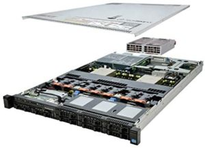 TechMikeNY Server 2X E5-2670 2.60Ghz 16-Core 128GB 4X 1TB 12G H710P PowerEdge R620 (Renewed)
