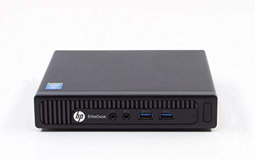 HP EliteDesk 800 G1 DM Desktop Mini Tiny Computer Intel 4th Generation i5 8GB DDR3 RAM 120GB SSD Solid State Disk Windows 10 Pre-Installed and Activated – WiFi Connection Included (Renewed)