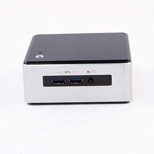 Intel NUC 5i5MYHE Intel 5th Generation i5 8GB DDR3 RAM 120GB SSD Solid State Disk Windows 10 Pre-Installed and Activated – WiFi Connection Included – Compact Desktop Mini Tiny Computer (Renewed)