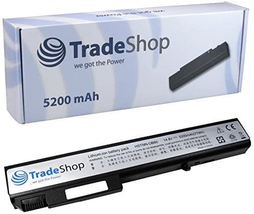 TradeShop Hochleistungs Laptop Notebook Akku 10,8V/11,1V 5200mAh für Hewlett Packard HP Compaq Elitebook 8530 8530p 8530w 8530w 8540w Mobile Workstation 8540p 8730p 8730w 8740w