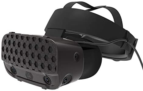 AMVR VR Headset Protective Shell Multiple Colors Cover for Oculus Rift S Accessories (Black)