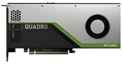 Dell Ersatzteil NVIDIA Quadro RTX 4000 8GB 3X DP + 1x Virtual Link RT, 490-BFCY (3X DP + 1x Virtual Link RT Cores Tensor Cores (Precision) (Customer KIT)), DTX9T